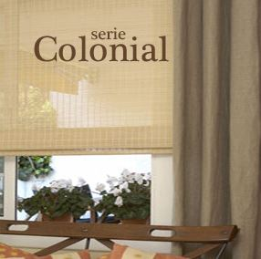 Estores COLONIAL fibras naturales de Stor Planet