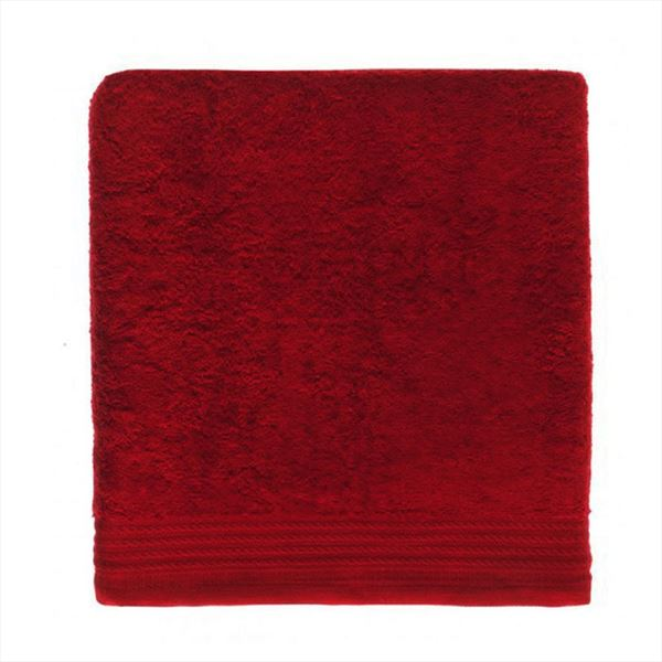 Ajuar rizo Toalla de ba/ño 100/% algod/ón Peinado 600 gr Tocador 30 x 50 cm Granate