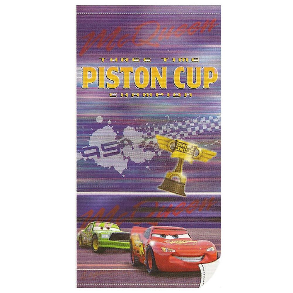 Toallas de playa PISTON CUP Cars