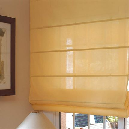 ▷ Estor City amarillo | Plegable y de varillas